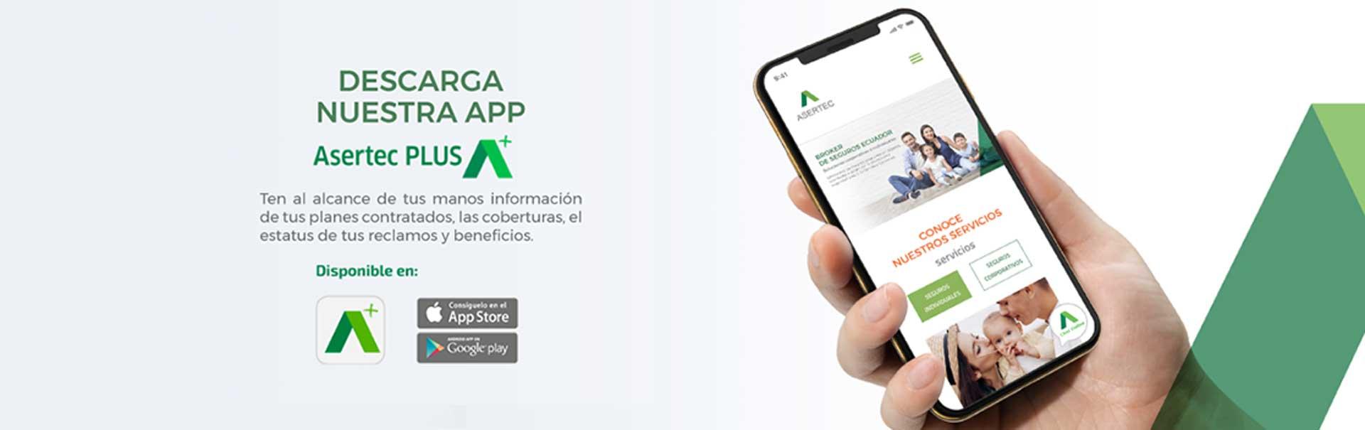 App Asertec Plus